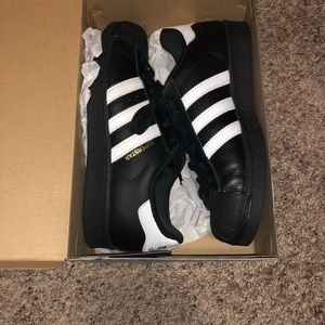 Addis's Superstar Sneakers (Worn once only)